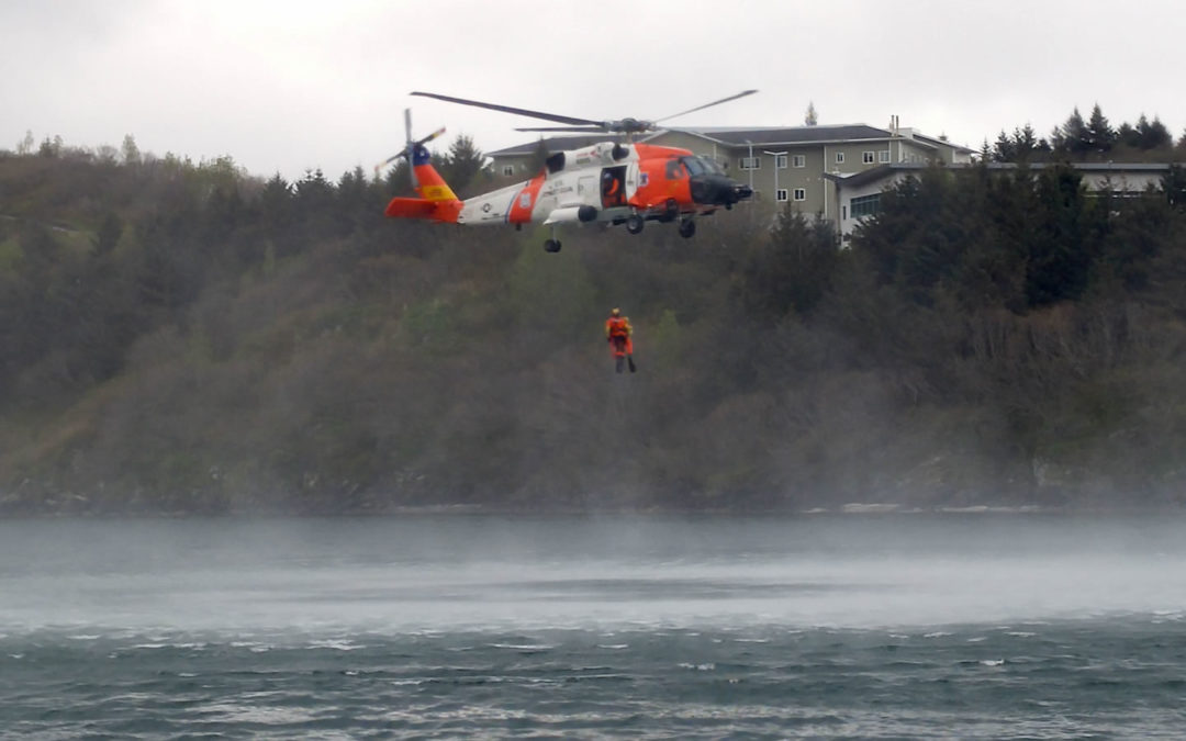 Heli treuillage à Kodiak
