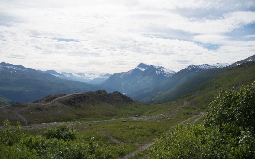 Montagne autour de Valdez