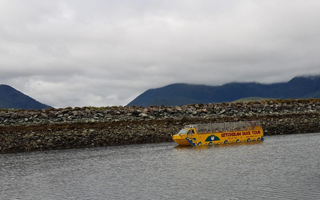 Duck Boat in Ketchikan