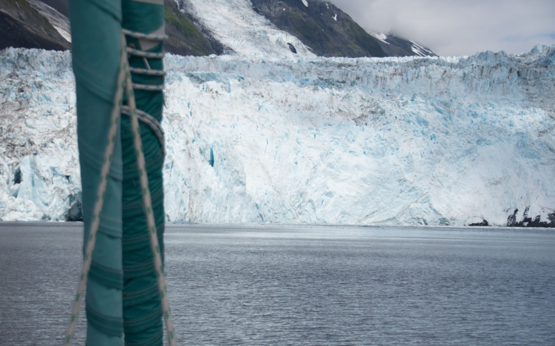 Glaciers du Prince William Sound
