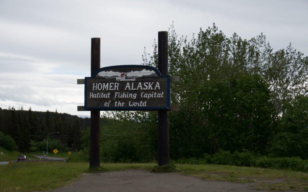 Homer, capital mondial de la pêche a l'halibut