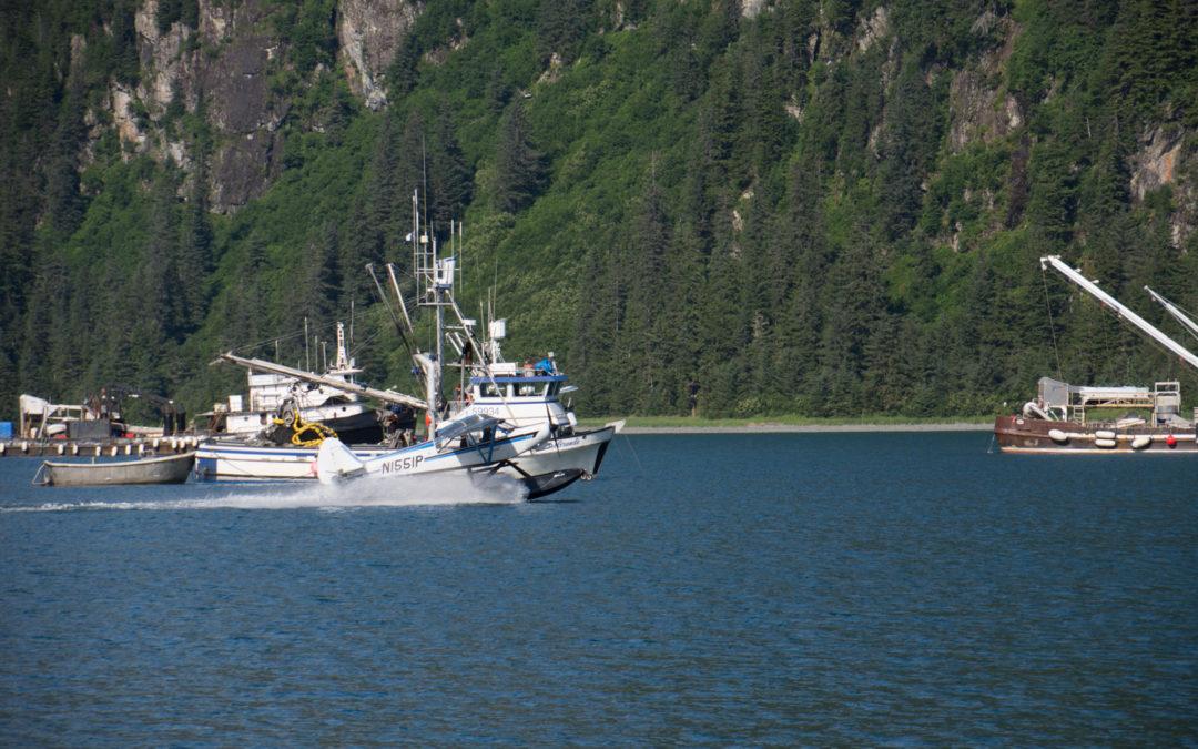 Sawmill Bay près de Valdez