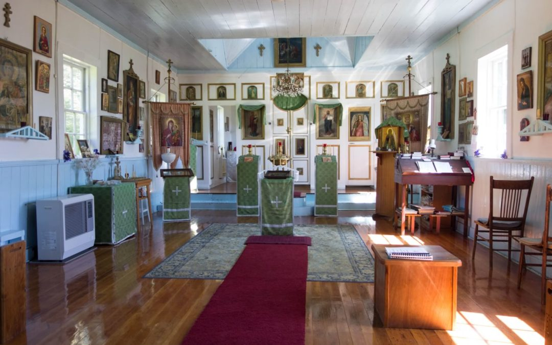 Ouzinkie Eglise orthodoxe