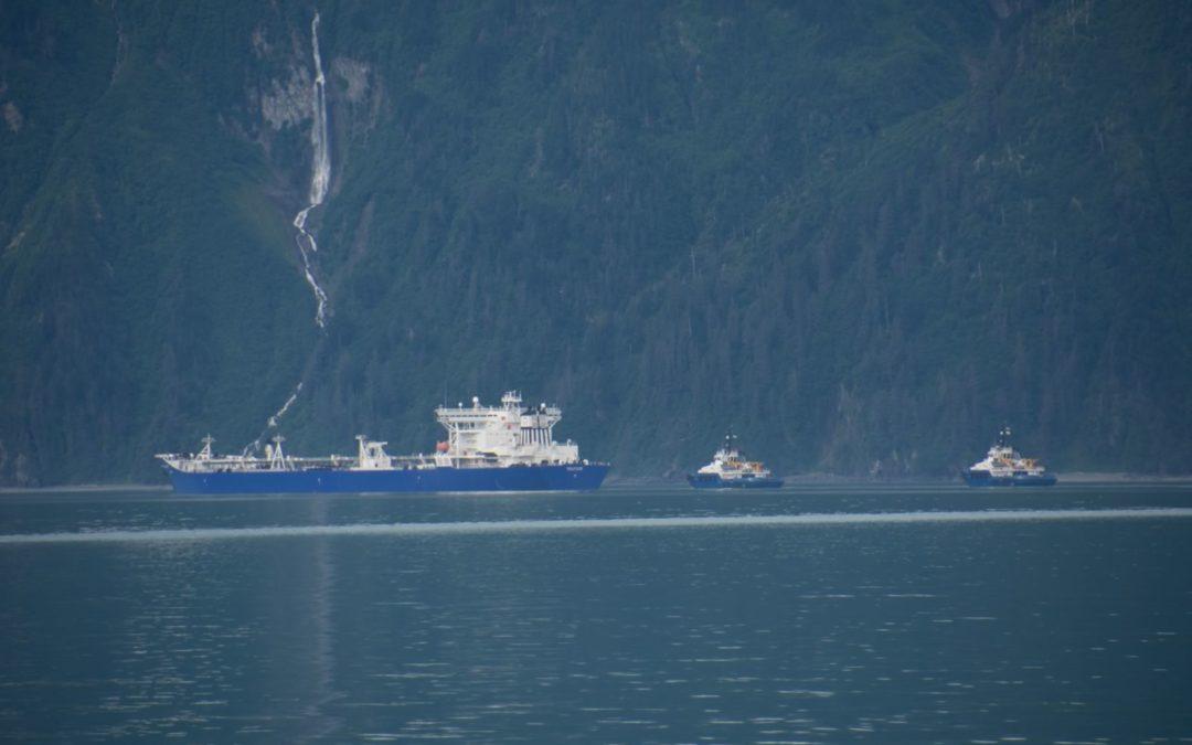 Pétrolier au départ de Valdez