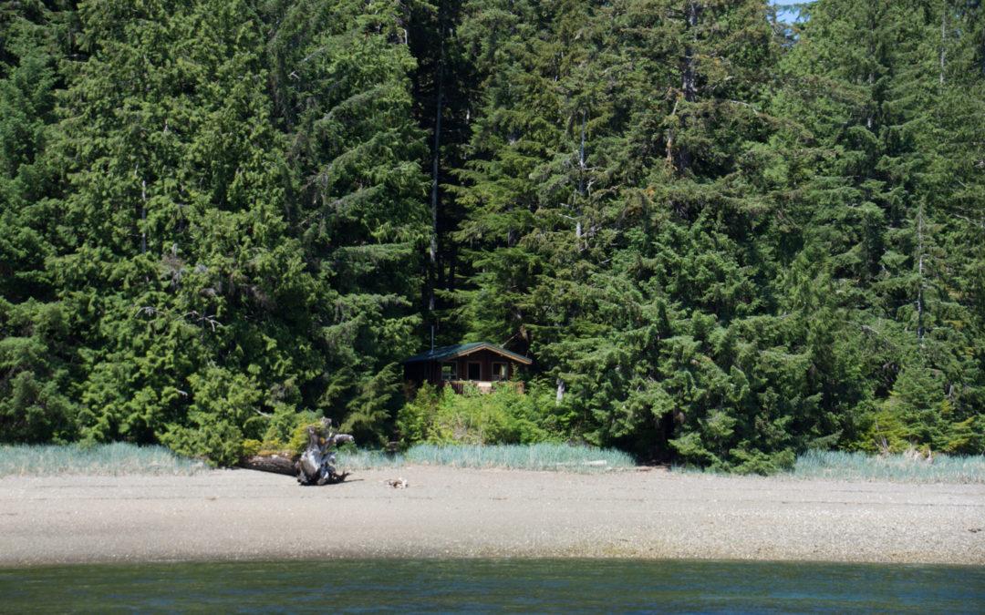 Ma cabane en Alaska